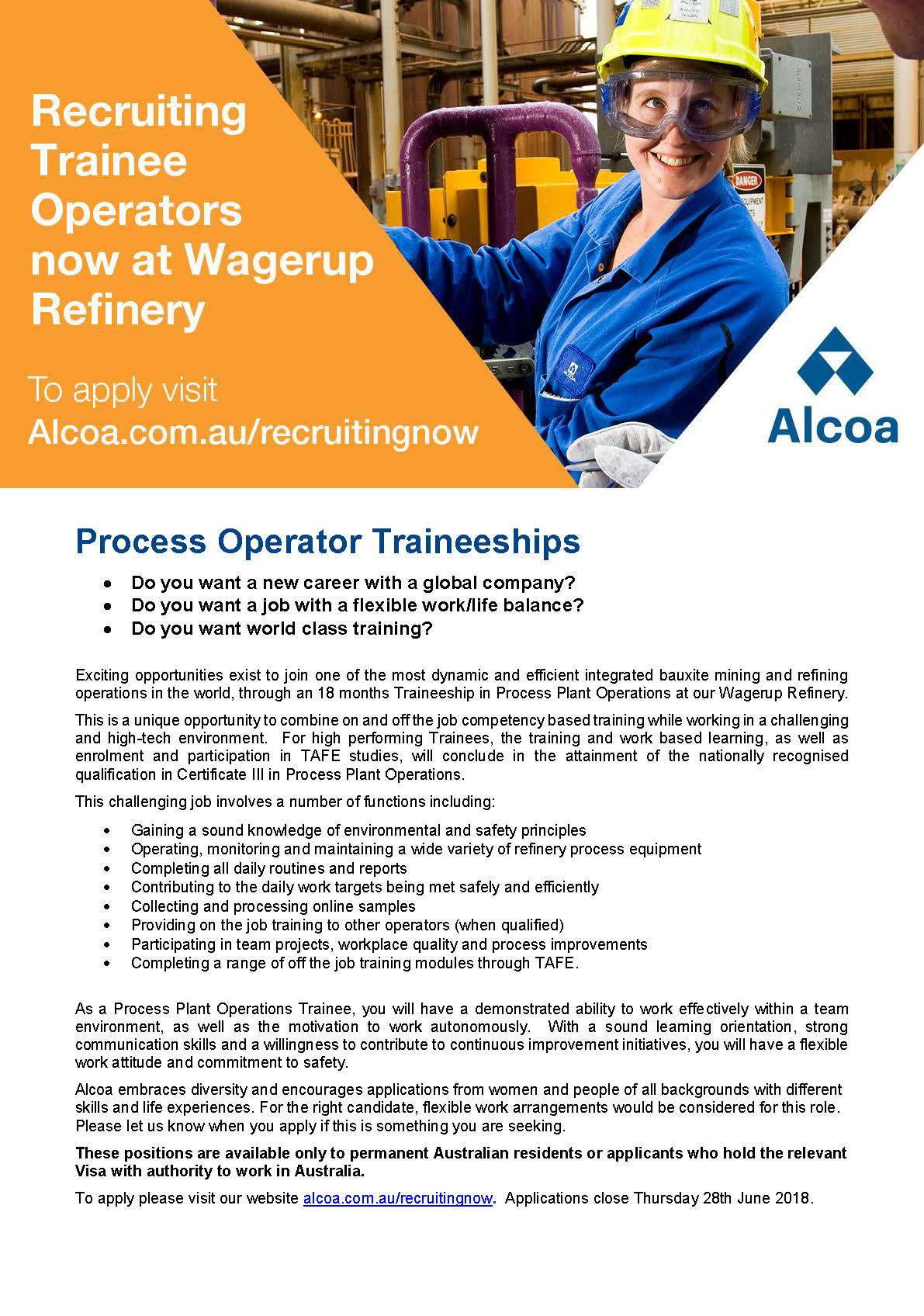 My Friends Told Me About You / Guide alcoa jobs wagerup